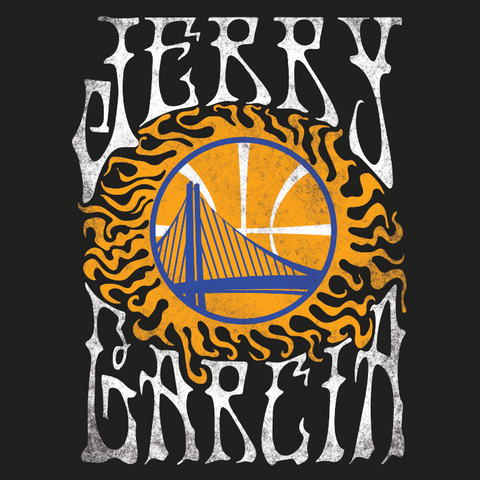 Jerry Garcia x Golden State Warriors