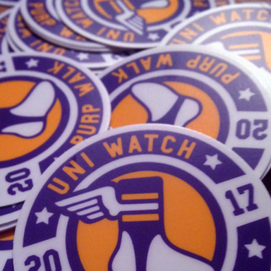 Purp Walk Stickers