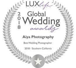 WED18051-LUX Global Wedding Award  Winne