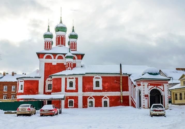 Смоленская церковь. Углич