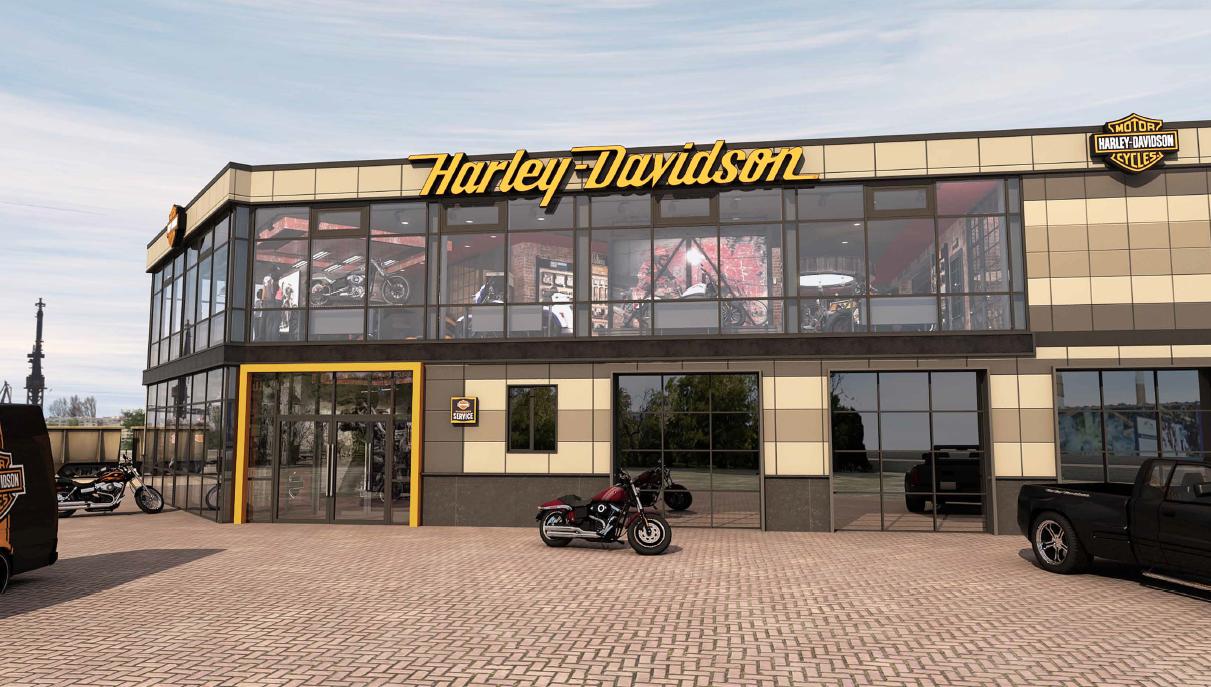 Магазин Harley-Davidson