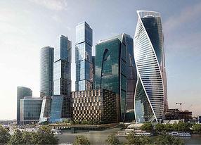 Вентляция кондиционирование Москва сити офисы башня
