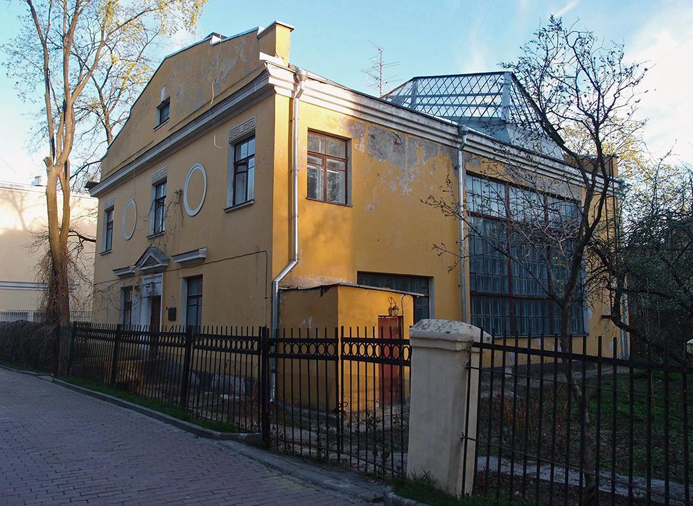 Мастерская В.Н. Мухиной