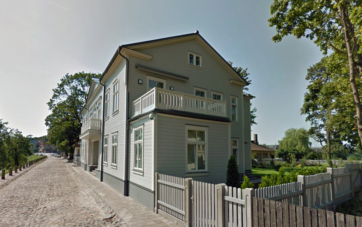 Коттедж в Латвии