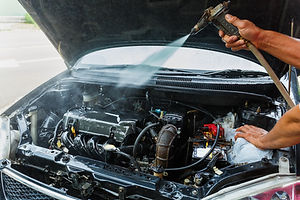 engine Washing,Cleaning Car Using High P