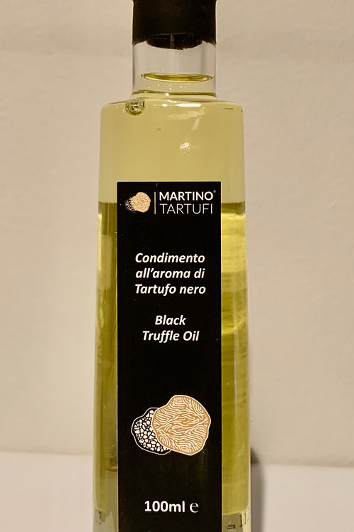 "Martino Tartufi  Olio di Oliva al Tartufo Nero ""BlackTruffle Olive Oil"""