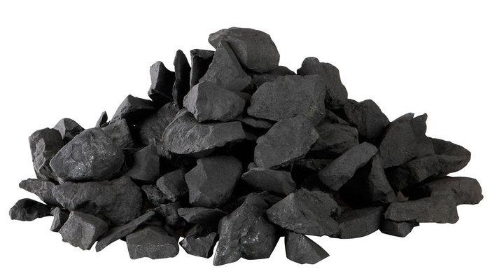 Pierres de shungite concassées pour eau de shungite (consommation) - 300 gr