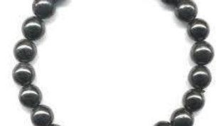 Bracelet 24 perles de shungite