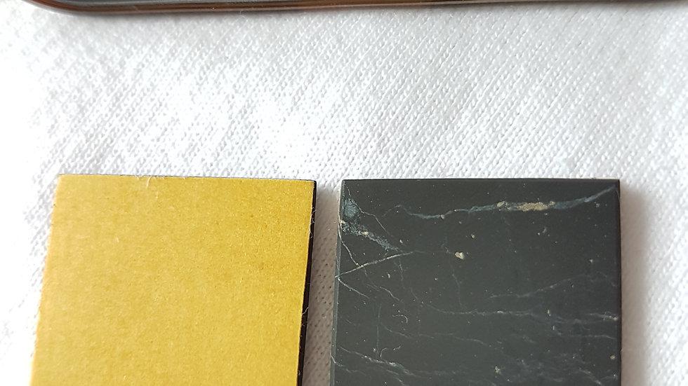 Pastille shungite adhésive rectangle 3 cm * 2.5 cm - laptop, appareils ménagers