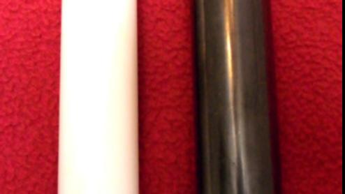 Harmoniseur baton Shungite et Marbre blanc 9 cm