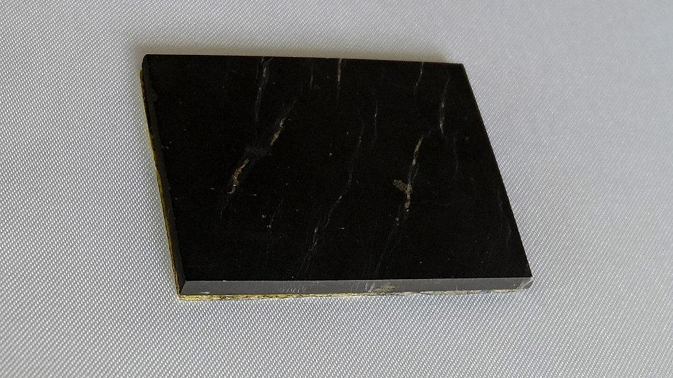 Pastille shungite adhésive rectangle 5 x 4 cm - gros appareils