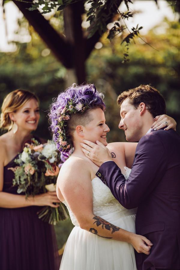 Aryka & Adrian's Secret Garden Wedding
