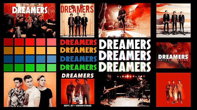 Dreamers Mood Board - Gold & Red.jpg