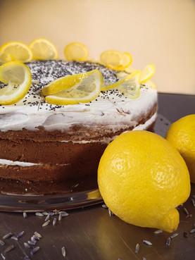 Lemon Lavender & poppyseeds pie