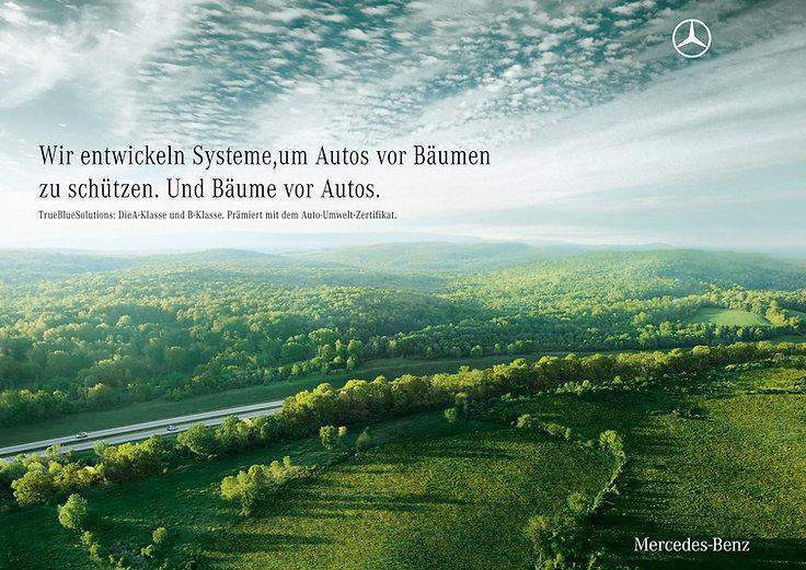 Mercedes-Benz (truebluesolutions) Print