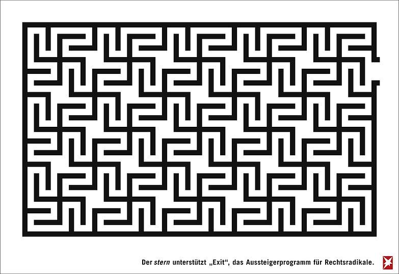 stern (Labyrinth) Print stern Auszeichnu