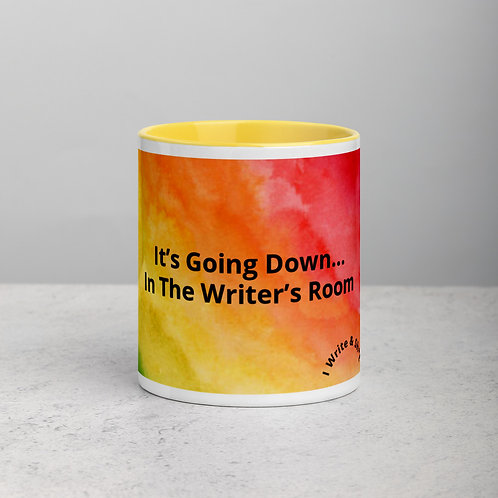 """It's Going Down..."" Rainbow Mug"