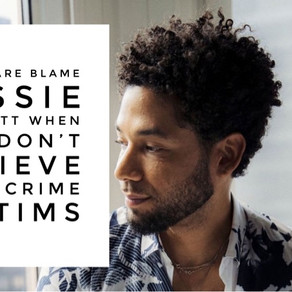 Don't Dare Blame Jussie Smollett When You Don't Believe Hate-Crime Victims