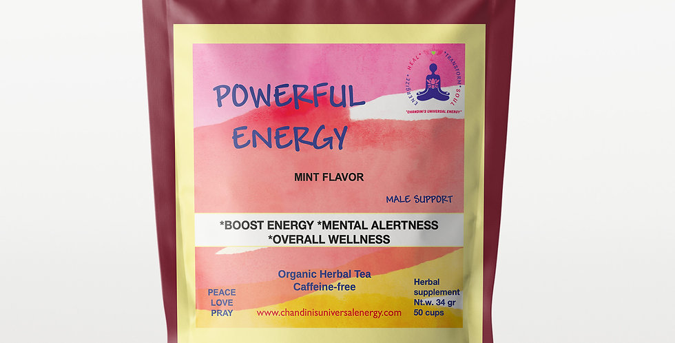 Powerful Energy Male Support Tea Blend
