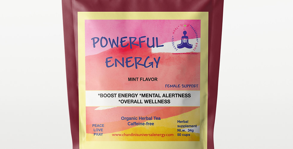 Powerful Energy - Female Support Tea Blend