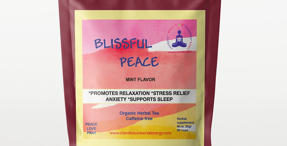 Blissful Peace - Relaxation Tea Blend