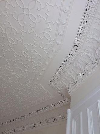 sprayed ceiling
