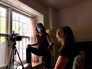 Filming a Voices survivor