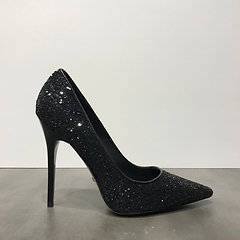 uk availability feccf a6261 BUFFALO Glitzer Pumps schwarz | Angelina Schuhmode
