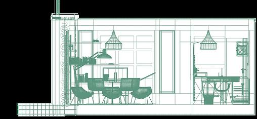 Design d'un bureau de vente