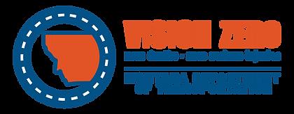 Montana's Vision Zero Logo from the Montana Department of Transportation.