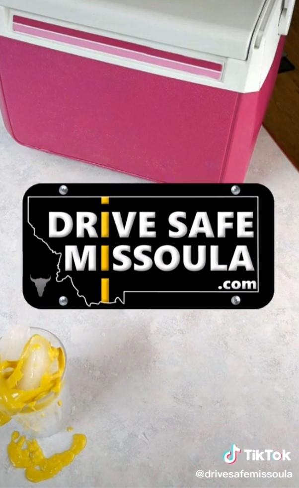 Linked image to TikTok video showing mustard on Ice