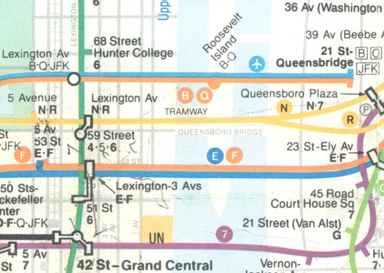 Nyc Subway Map Grand Street Shuttle.Roosevelt Island And Public Transportation It S Complicated News