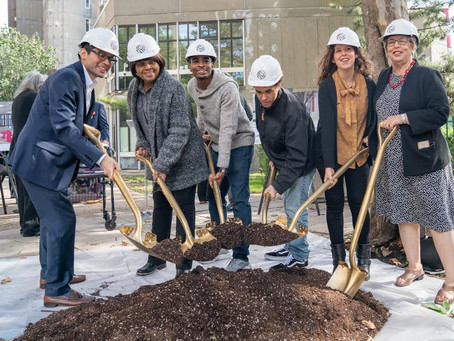 New Library Officially Breaks Ground