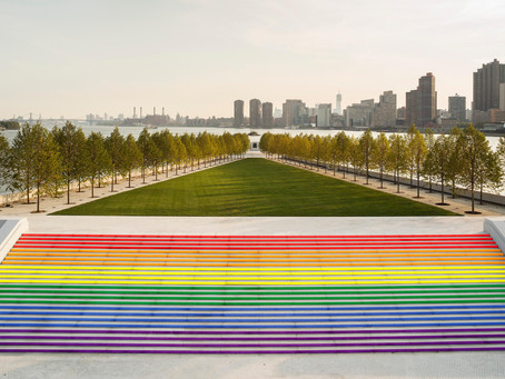 Largest Pride Flag in NYC at FDR Park