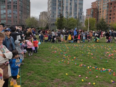 Snapshots: Egg Hunt A Success Despite Early Rain