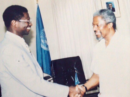 Islanders Remember Kofi Annan, World Leader and One of Ours