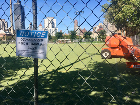 Islanders Ask RIOC for Answers About Octagon Soccer Field