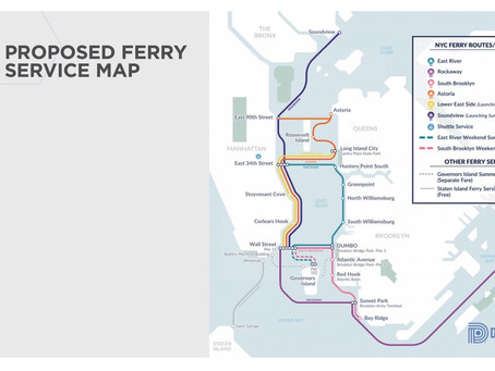 Ferry Extension to Upper East Side Being Discussed
