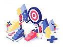 customer-attraction-strategy-isometric_9