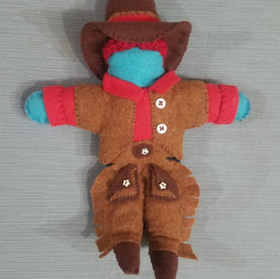 Cowboy Doll - Commission