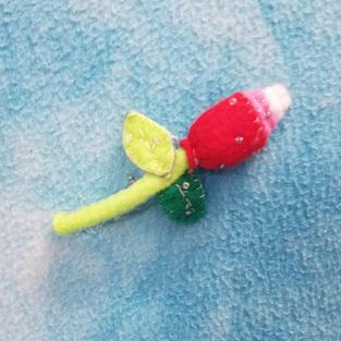 Rosebud Pin