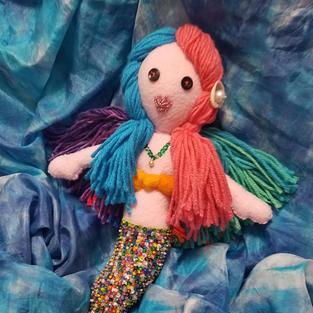 Mermaid Doll - Commission