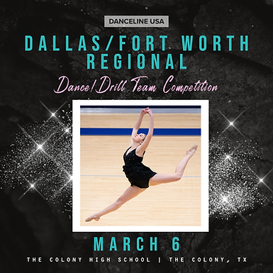 DFW Regional Competition:  Cancelled