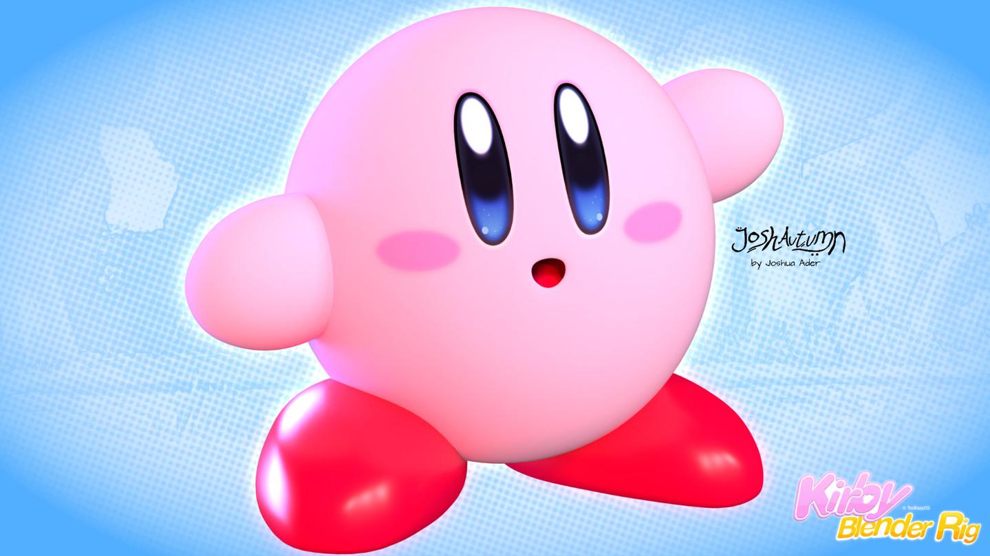 Kirby 3D model - TooEazyCG