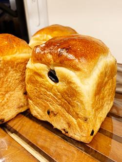 3種のレーズンミニ食パン