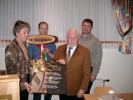 42 Jahre 1. Vorsitzender des Turnverein Königshofen