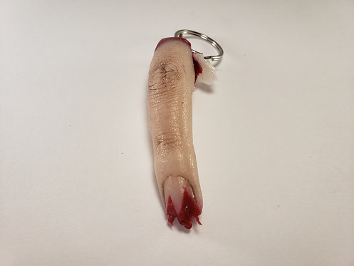 Undead Severed Finger Keychain