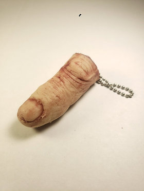 Severed Finger Keychain