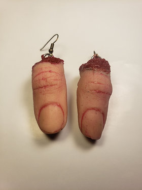 Severed Thumb Earrings