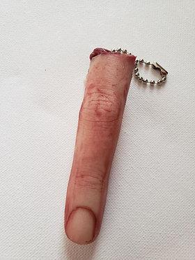 Severed Finger Keychain
